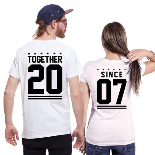 Фото парных футболок со сроком совместной жизни