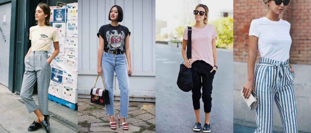 Фото - как заправить футболку в джинсы
