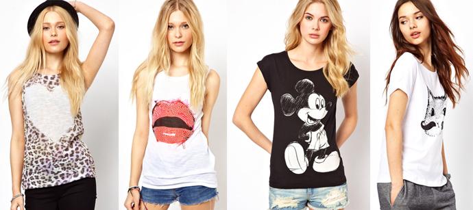 Фото облегающих женских футболок