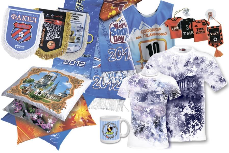 Фото декоративных элементов, выполненных с применением печати на ткани