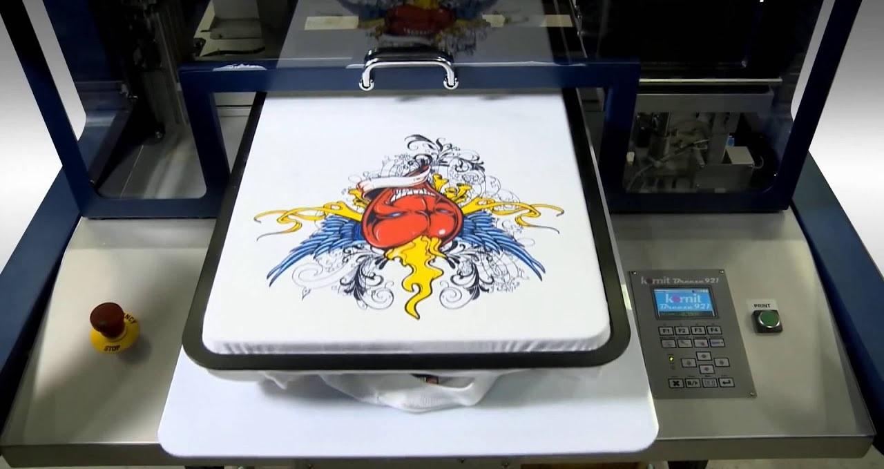 Как печатают картинки на футболках
