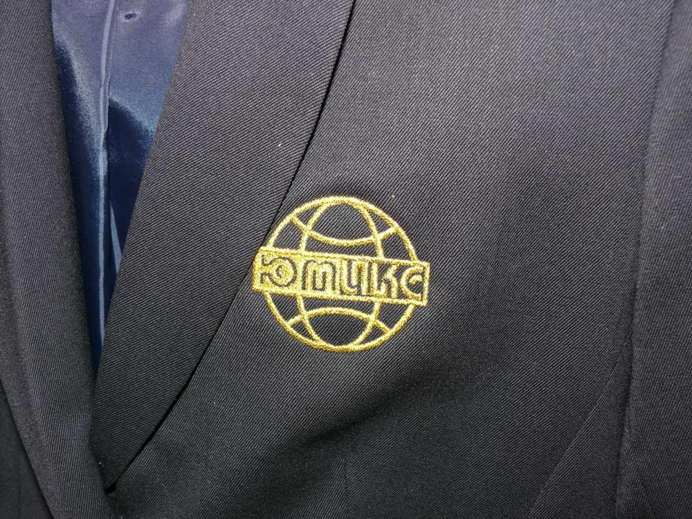 Фото корпоративной одежды с вышивкой