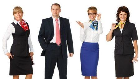 Фото сотрудников в униформе с яркими акцентами