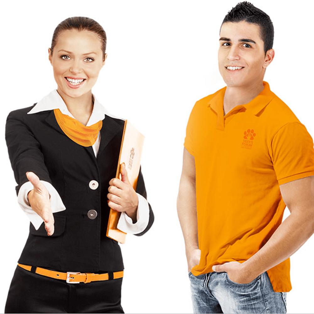 Фото униформы для сотрудников одной компании, но различных специальностей