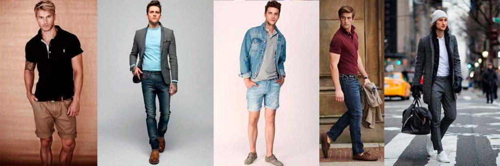 Фото комплектов одежды с поло на каждый день и для любой погоды